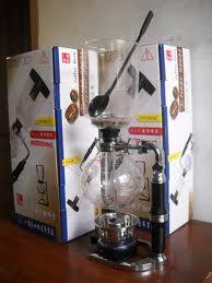 syphon coffee johan